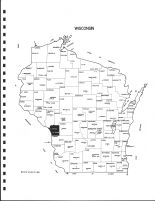 Wisconsin State Map, La Crosse County 1983